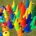 Football Agility Soccer Marker Training Cones