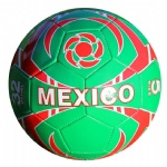 2014 World Cup Soccer Mexico FLAG ALL WEATHER Soccer Ball Official Size 5