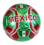 Mexico Flag Football Soccer Ball All Weather Sporting Goods U.S Official Size 5