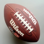 Junior size American football