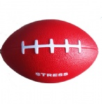 pu foam american football stress ball