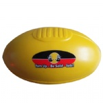 Custom Logo Pu Foam American Football Anti Stress Ball