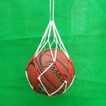 Nylon NET BAG BALL CARRIER for Carrying 1 Volleyball Basketball Football Soccer