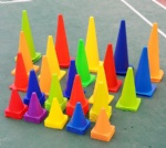 training Equipment Plastic Soccer and Football Training Marker Cones