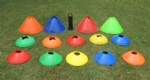 20cm Cones Marker Discs Soccer Football Training Sports Entertainment