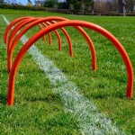 Football Soccer Training Hurdles simple goal
